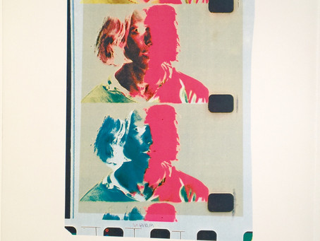 """Eric Emerson (Chelsea Girls),"" 1982 by Andy Warhol"