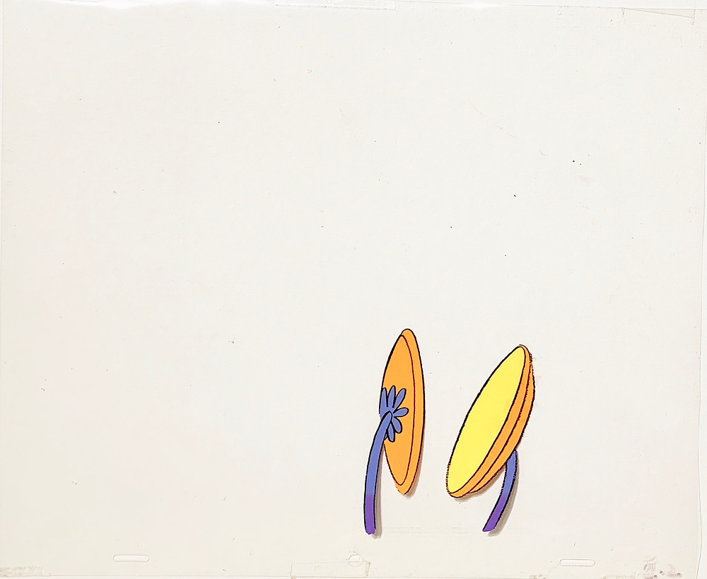 Original production animation cel of Whos with Musical Instrument.