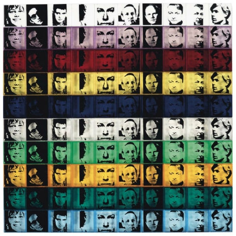 Andy Warhol Portrait Pop Art