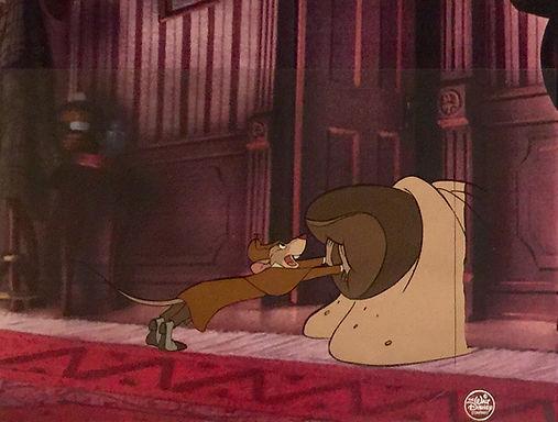 Walt Disney The Great Mouse Detective Original Production Animation Cel