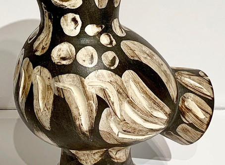 Chouette (Wood Owl) Vase by Pablo Picasso, 1969