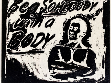 Be A Somebody With A Body, 1985 by Andy Warhol