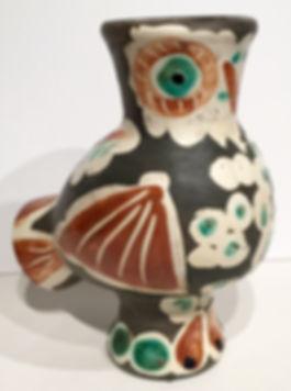 Pablo Picasso Owl Vase Ceramic Madoura
