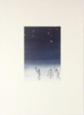 Jasper Johns Original signed and numbered