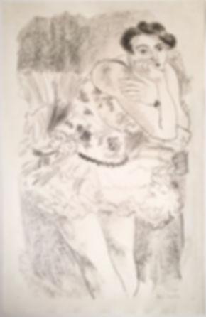 Henri Matisse Dancer Original Signed and Numbered
