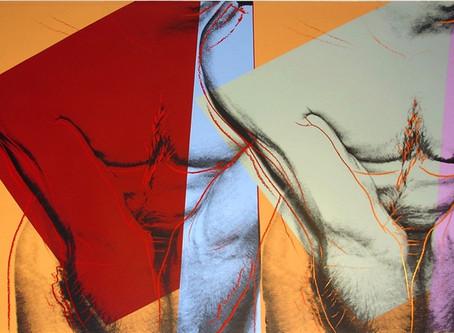 Torso (Double), circa 1982 by Andy Warhol