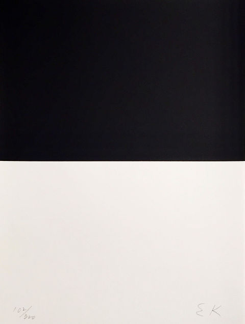 Ellsworth Kelly Signed and Numbered