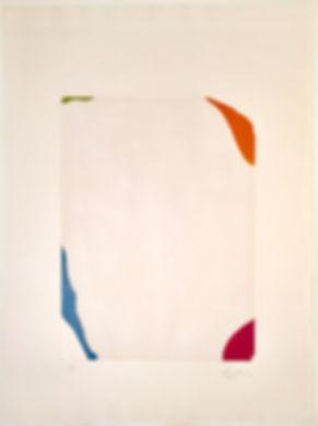 Helen Frankenthaler Weather Vane Signed and Numbered Original Print