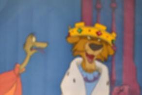 Walt Disney Robin Hood Original Production Animation Cel