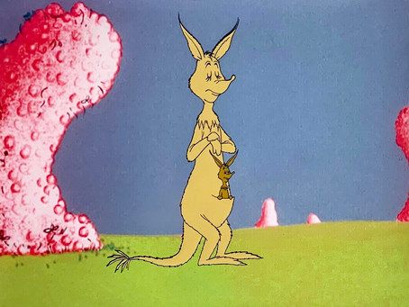 "Original Production Animation Cel of Jane & Jr. Kangaroo from Dr. Seuss ""Horton Hears A Who!,"" 1970"