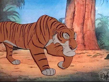 "Shere Khan Cel from ""The Jungle Book,"" 1967"