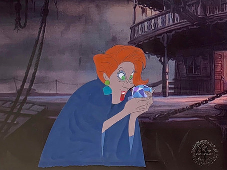 """Original Production Animation Cel of Madame Medusa from """"The Rescuers,"""" 1977"""