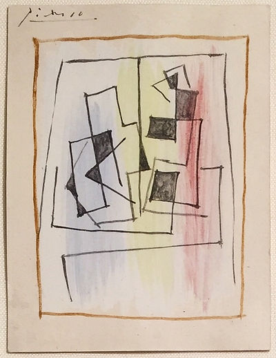 Pablo Picasso original drawing