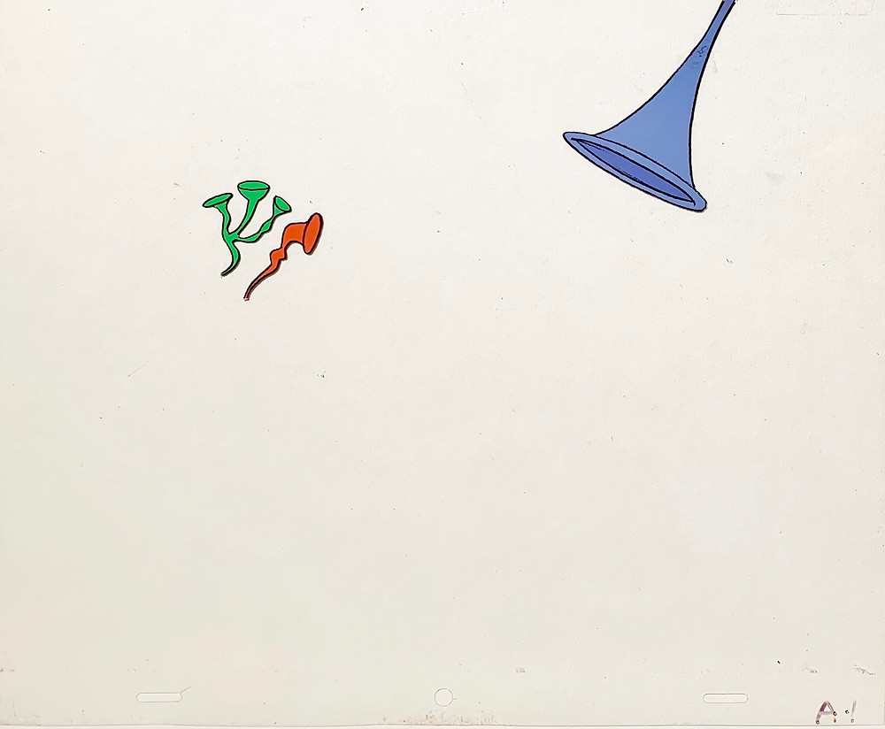 Original production animation cel of Musical Instrument.