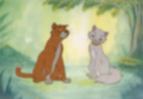 Walt Disney The Aristocats Original Production Animation Cel