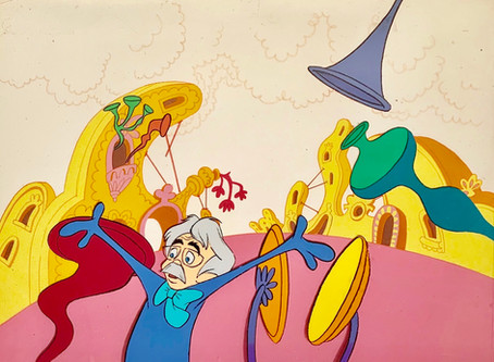 Original Production Animation Cels from Dr. Seuss Horton Hears A Who!, 1970