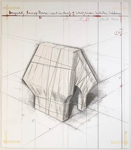 Christo Wrapped Snoopy House.jpg