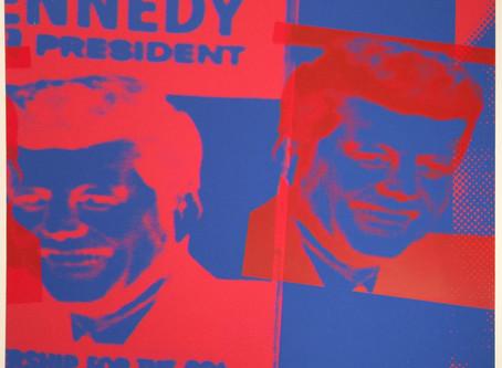 """""""Flash-November 22, 1963, 1968,"""" by Andy Warhol (Feldman/Schellmann: II.42)"""