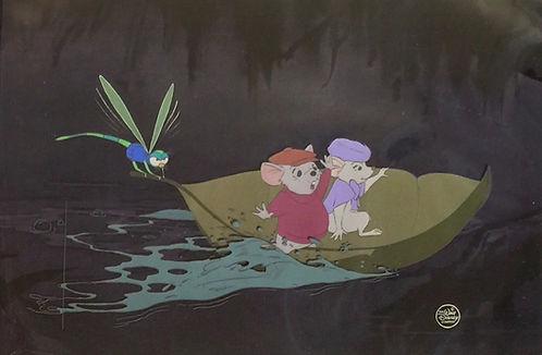 Walt Disney The Rescuers Original Production Animation Cel