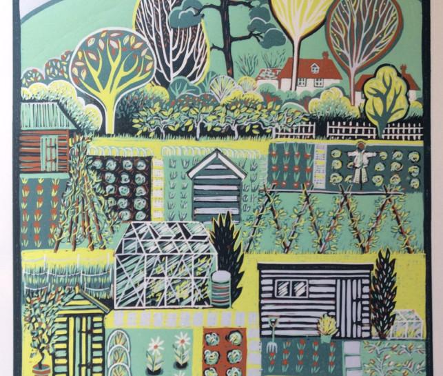 Allotment Landscape £260