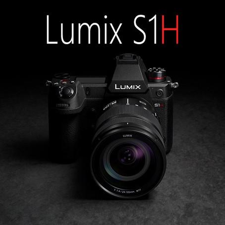 Panasonic S1H กล้องฟูลเฟรมจัดหนัก ถ่ายวิดีโอ 6K รองรับวิดีโอ RAW