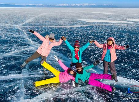 ภาพประทับใจจากทริป ทะเลสาบไบคาลฤดูหนาว