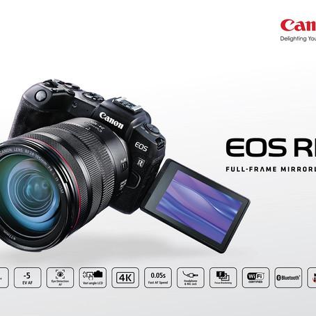 CANON EOS RP กล้องมิเรอร์เลสฟูลเฟรม เล็กและเบาที่สุดจากแคนนอน