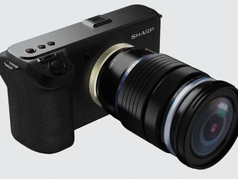 Sharp เปิดตัวกล้องวิดีโอ 8K