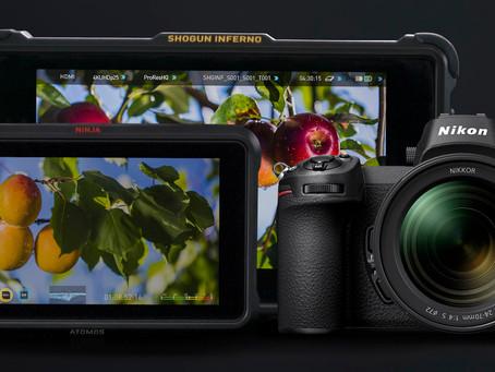 Nikon Z6 / Z7 รองรับไฟล์วิดีโอ RAW