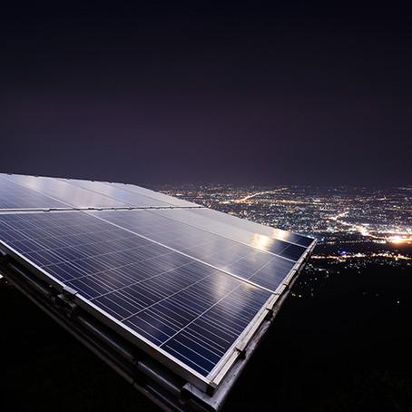 À noite o sistema solar fotovoltaico pode gerar energia?