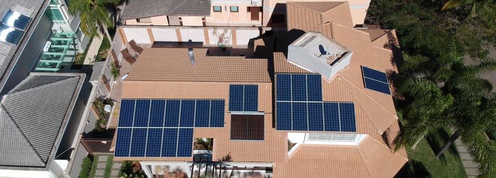 Energia fotovoltaica em Jurere Internacional
