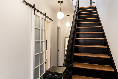 Stairs, renovation, townhouse