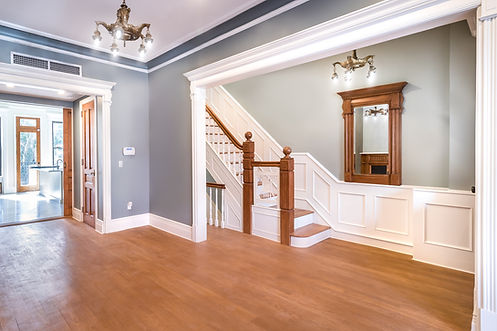 stairs, millwork, woodwork, renovation, living room, brownstone, townhouse