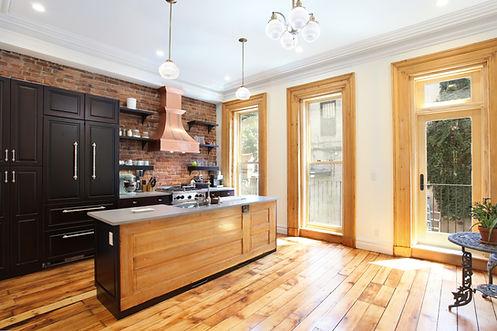 kitchen renovation, millwork, custom, hard wood floor, remodel
