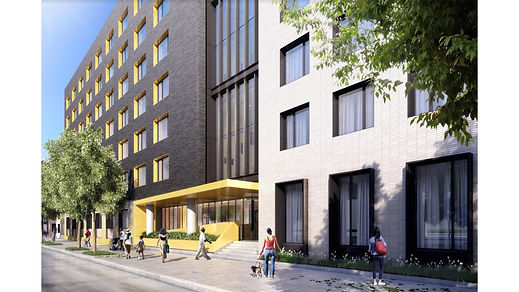 Mixed use: Multi-family Residential, Retail, Medical Office Development