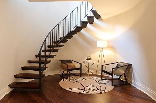 stairs, hard wood floor, renovation