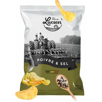 Les Chips de Lucien - Poivre & Sel