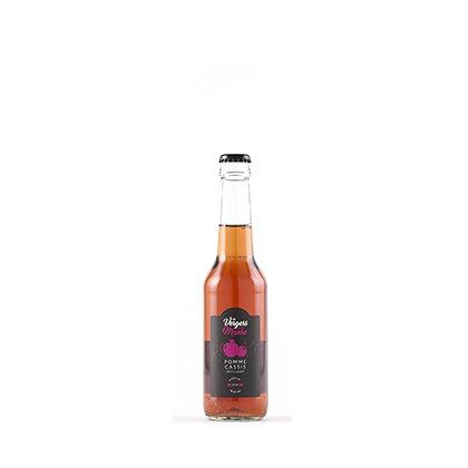 Les vergers de la Manse - Pomme-Cassis - pétillant - 25 cl