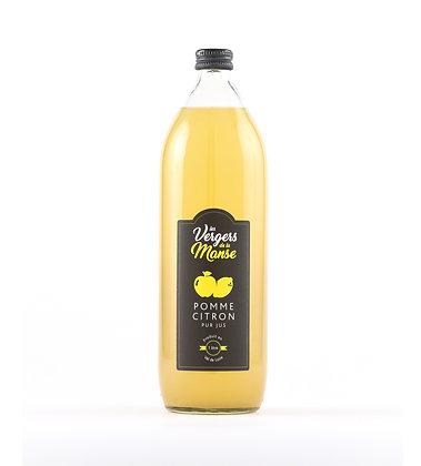 Les vergers de la Manse - Pur Jus de Pomme-Citron - 1l