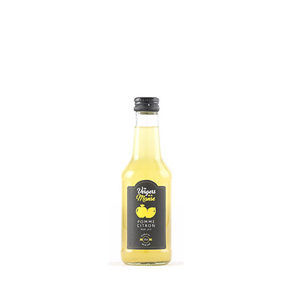 Les vergers de la Manse - Pur Jus de Pomme-Citron - 25 cl