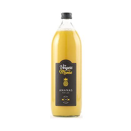 Les vergers de la Manse - Pur Jus d'Ananas - 1l