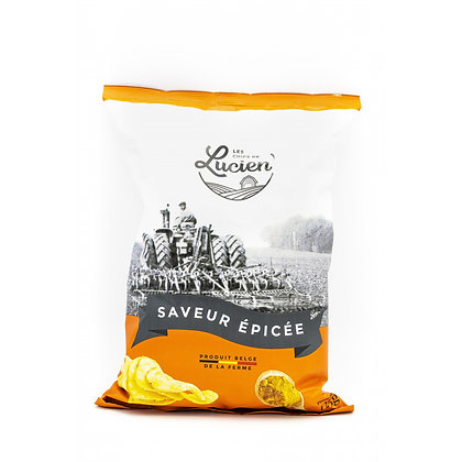 Les Chips de Lucien - Saveurs Epicées