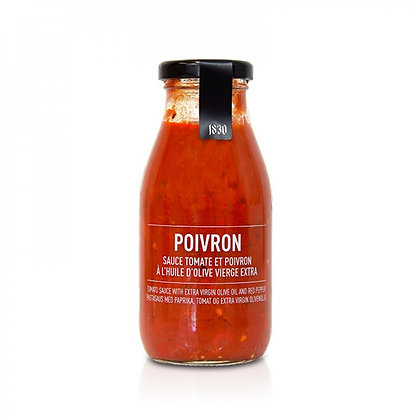 Maison Brémond - Sauce Tomate aux Poivrons