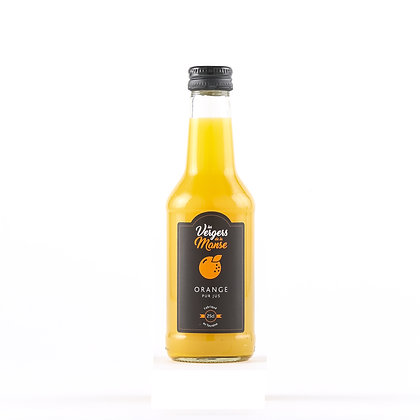 Les vergers de la Manse - Pur Jus d'Orange - 25 cl