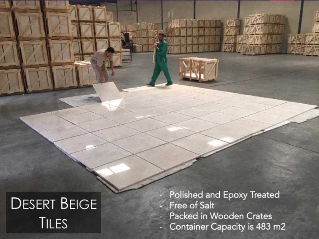 Desert Beige Tiles