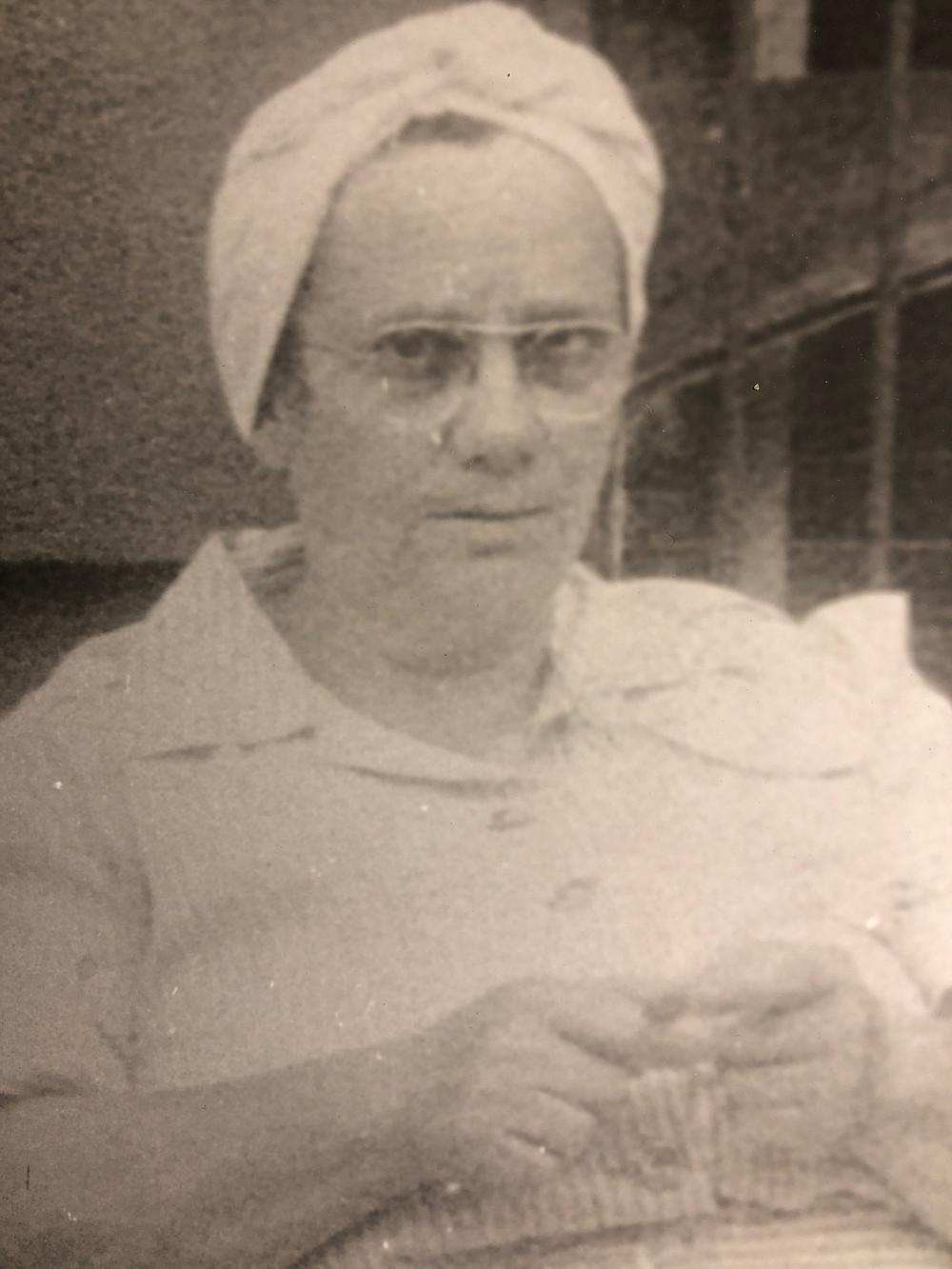 Photos of my maternal grandparents.