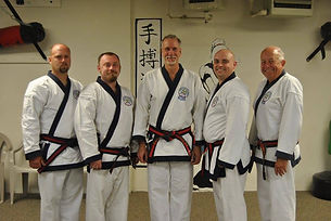 The Master instructors of Lemners Soo Bahk Do located in Bradley, Il.