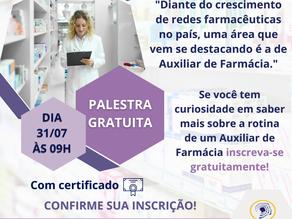 PALESTRA AUXILIAR DE FARMÁCIA