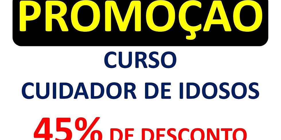 CURSO CUIDADOR DE IDOSOS 45% DE DESCONTO