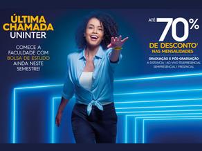 """""""ÚLTIMA CHAMADA UNINTER PROMOÇÃO TERMINA DIA 03/05"""""""
